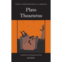 Theaetetus (Sachs Edition)