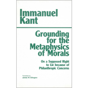 immanuel kant metaphysics of morals What kant aims to provide is a metaphysics of morals in the sense of an  analysis of the grounds of moral obligation in the nature of a rational being in  other.