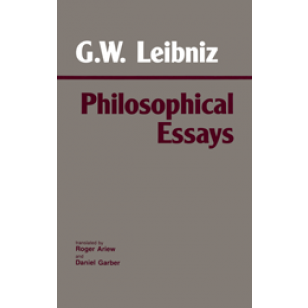 Leibniz Philosophical Essays  Philosophy Leibniz Philosophical Essays Writing Services Environmental Brochure also Essays On Science  Business Plan Writing Services Chicago