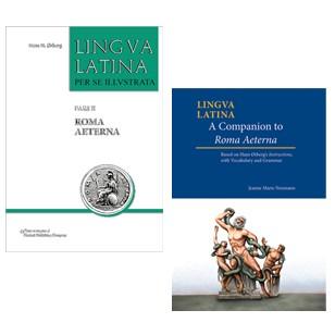 Lingua Latina: Pars II: Roma Aeterna & Lingua Latina: A Companion to Roma Aeterna (Two Volume Set)