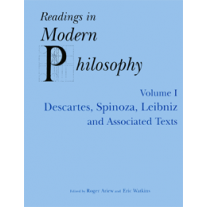 Readings In Modern Philosophy, Vol. 1