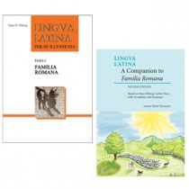 Lingua Latina: Pars I: Familia Romana & A Companion to Familia Romana, Second Edition (Two Volume Set)