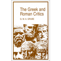 The Greek and Roman Critics