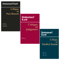 Kant: Three Critiques, 3-volume Set