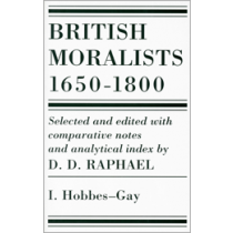 British Moralists: 1650-1800, Vol. I