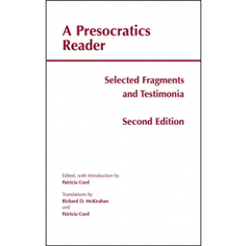 A Presocratics Reader (Second Edition)
