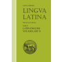 Lingua Latina: Pars II: Latin-English Vocabulary II