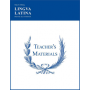 Lingua Latina: Teacher's Materials and Answer Keys